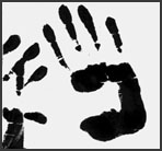 printeed hands