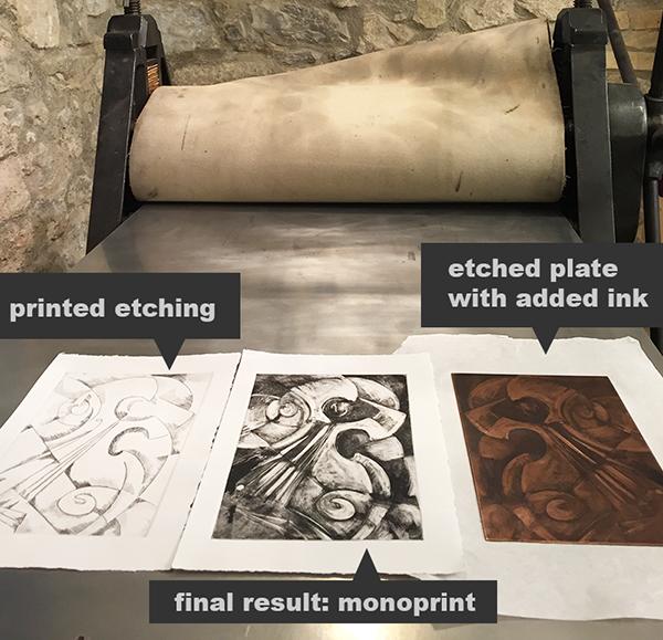 sample monoprint